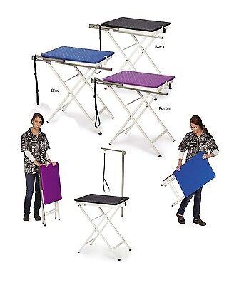 Folding Grooming Table for Dogs - Dog Groomer Tables - Quick Portable Storage