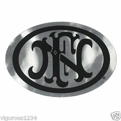 Fn Herstal Promo Logo Decal Chrome Sticker P90 Ps90 Scar Fs2000 Pistol Mk2 Mk3