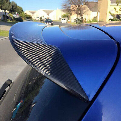 Carbon Fiber Rear Roof Spoiler Wing Fit for VW Golf 6 VI MK6 GTI R20 2012-2016