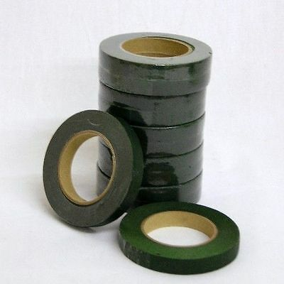 2 x Dark Green Florists Stem Tape