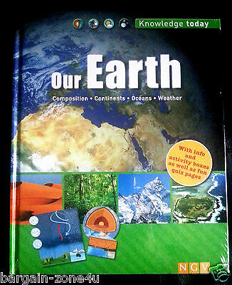 Our Earth Kids Children Learning & Educational English Hardback Knowledge Book