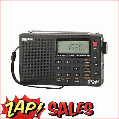 5%Off with PERCENT5 Code: World Band, AM/FM radio, SW, LW, AIR bands