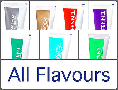 Kingfisher Natural Toothpaste - All 7 Flavours