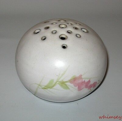Poterie Port - Joly Flower Frog Quebec Hand Made 1980s Art Pottery