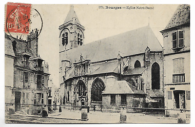 "CPA "" BOURGES - Eglise Notre-Dame"