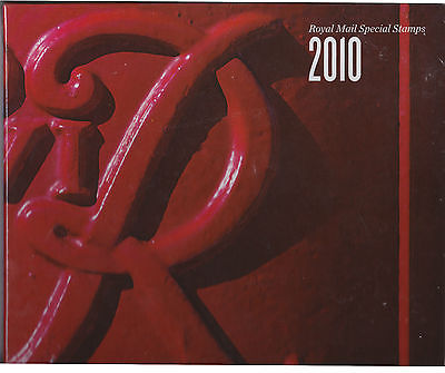 GB  2010  YEAR BOOK Inc. All stamps issued  mint No 27