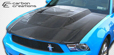 2010-2012 Ford Mustang Carbon Creations Hot Wheels Hood - 1 Piece Body Kit