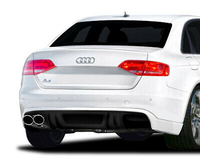 2009-2012 Audi A4 4DR R-1 Rear Diffuser - 1 Piece Body Kit