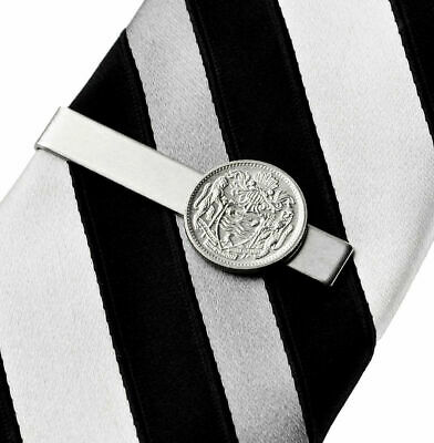 Guyana Coin Tie Clip - Tie Bar - Tie Clasp - Business Gift - Handmade - Gift Box