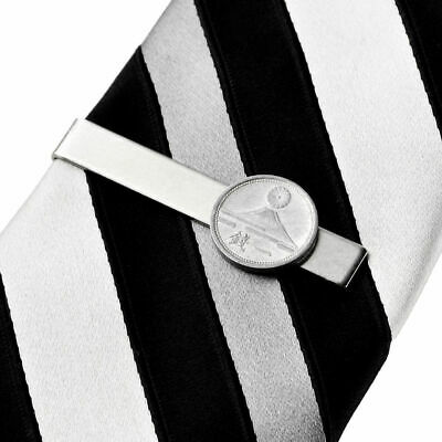 Japan Coin Tie Clip - Tie Bar - Tie Clasp - Business Gift - Handmade - Gift Box