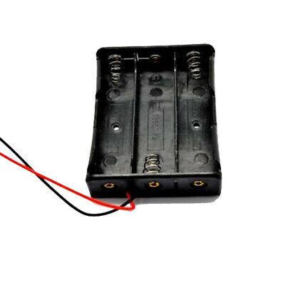 Battery Holder Case With Wire Lead For 2x 18650 Li-ion