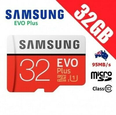 Samsung 32GB EVO Plus micro SD SDHC class 10 Full HD memory card 95MB/s Genuine