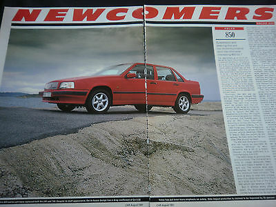 VOLVO 850 - 4 page COLOUR TEST / REPORT