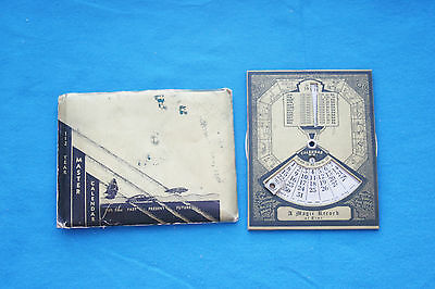 VINTAGE 112 YEAR MASTER CALENDAR - A MAGIC RECORD OF TIME - 1844-1956