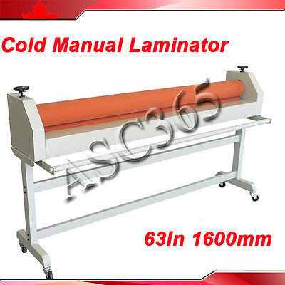 Stand Large Soft Rubber Roll Cold Laminating Machine Manual 63In 1600MM