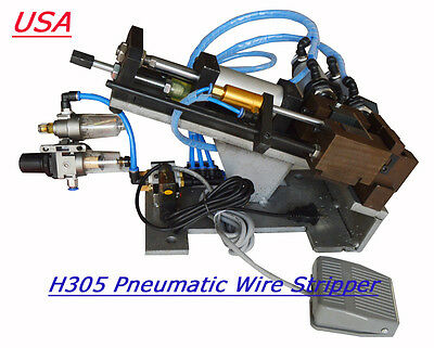 H305 Pneumatic Wire Stripper,Cable Stripper, Air Wire Stripping Machine 110v
