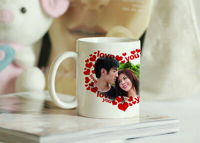 custom personalized coffee cup mug, picture photo logo printed,good gift