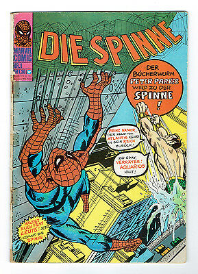DIE SPINNE 1 MARVEL 1974 Spiderman Williams Verlag Zustand 2-3