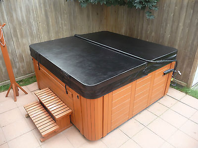 """Extreme 6"""" tapered Spa Hot Tub Cover - Made for Canadian Winters"""