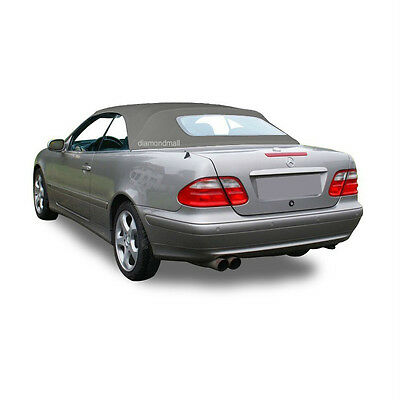 NEW Mercedes Benz CLK Series 1999-2003 Convertible Soft Top Gray Stayfast Cloth