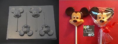 MICKEY MOUSE Face Head Chocolate Candy Soap Mold