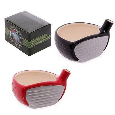 New ceramic golf club paper clip holder trinket box for the office in gift box