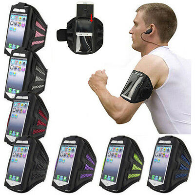 Sports Gym Running Jogging Arm Band Strap Holder Pouch Case For BlackBerry Phone