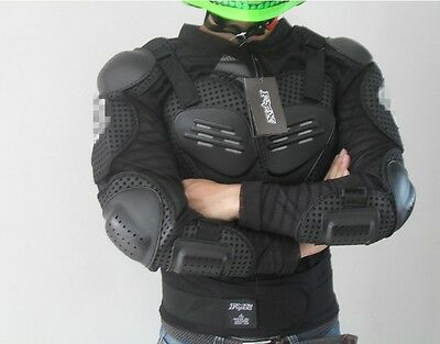 New Racing Motorcross Motorcycle Body Armor Spine Protective Jacket Gear Coat N7