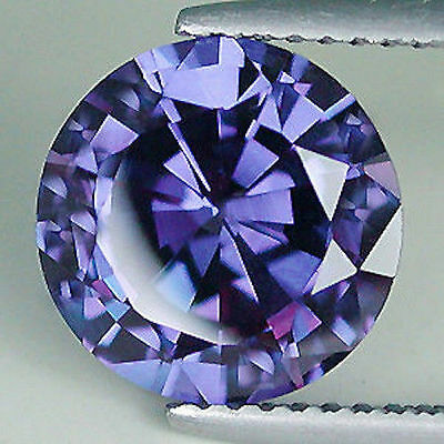 Genuine Natural Iolite AAA Rated Round Faceted (1.5mm - 7mm) Loose Gemstones