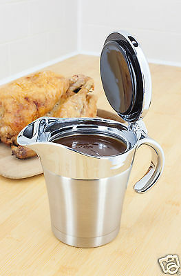 Judge Thermal Insulated Double Wall Gravy Sauce Boat Pot Serving Jug 500ml TC299
