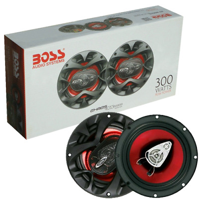 "Coppia Casse Boss Audio 165Mm 3 Vie 6,5"" 165Mm 300 Watts Per Auto Full Range"