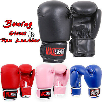 Boxing Sparring Punching Gloves MMA Punch Bag Training Mitts Kick Muay Thai Maya