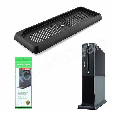 New Vertical Stand Holder Dock Mount For Xbox one Console Black Steady