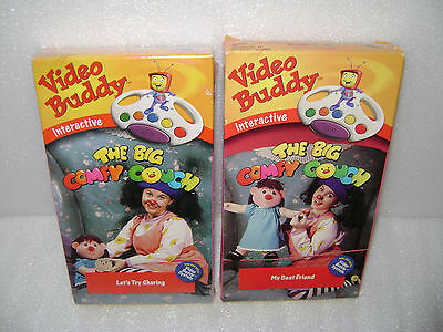 Video Buddy Interactive Tapes Big Comfy Couch Let's Try Sharing My Best Friend