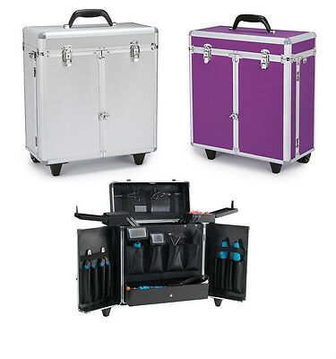 PROFESSIONAL GROOMING TOOL CASES on WHEELS - Portable Storage for Groomers Tools