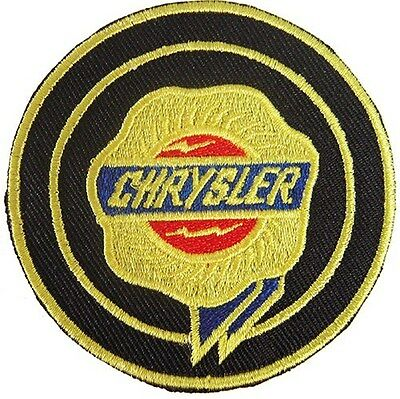 New Chrysler Logo Car Racing embroidered iron on patch. (i23)