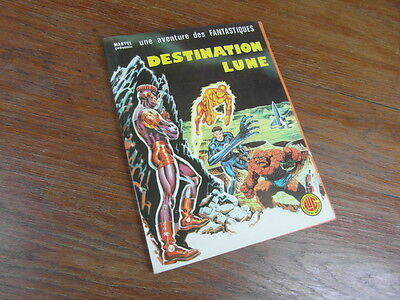 COLLECTION LUG MARVEL / DESTINATION LUNE EO DL 4e TRIMESTRE 1977 TTBE