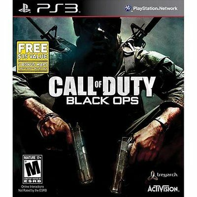 BRAND NEW FACTORY SEALED CALL OF DUTY BLACK OPS W/ FIRST STRIKE CONTENT SONY PS3