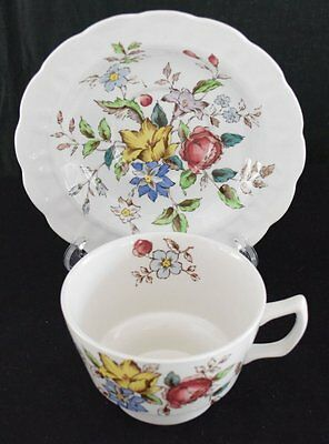 Booths English China, Flowerpiece pattern, large cup and saucer