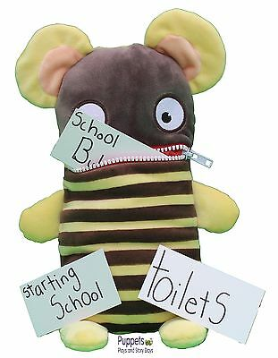 Sorgenfresser Worry Eater Gump Large Worry Monster Toy SEN Anxiety Autism KS1/2