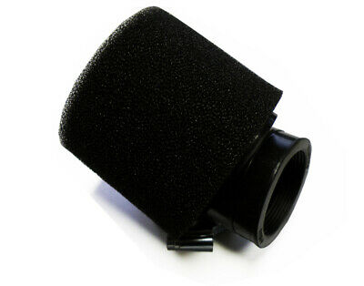New Universal Dual Stage Bent Air Filter 42Mm Intake Angled Pod Pit Dirt Bike