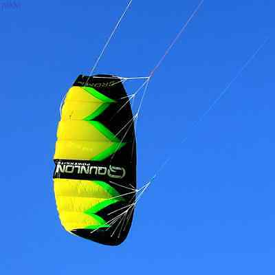 2Sqm Single 3-Line Parachute Kite Trainer Traction Outdoor Power Kite Show Play