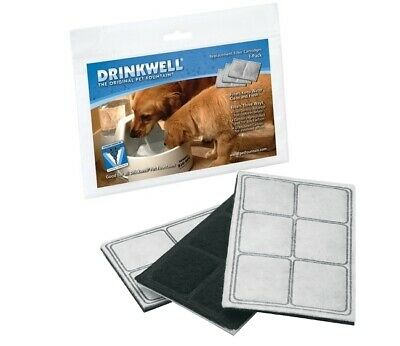 Drinkwell Pet Fountain Authentic Replacement Filters 3 pack