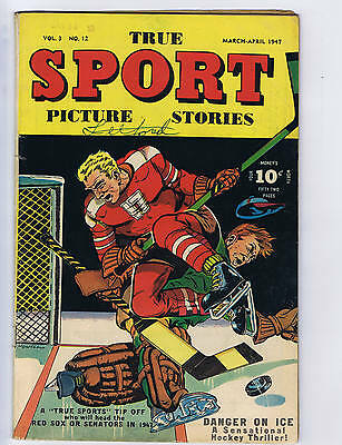 True Sport Picture Stories V3 #12 Street and Smith 1947