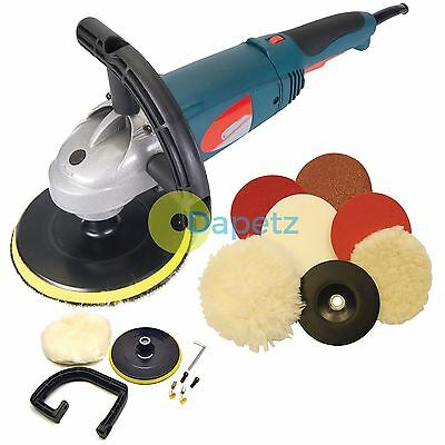 Heavy Duty Sander Polisher Package Car Body Buffer Complete with Polishing Kit