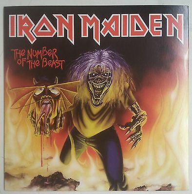 """Iron Maiden The Number Of The Beast Single 7"""" UK Reedición 2014"""