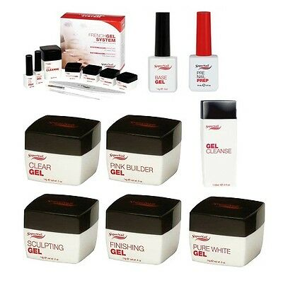 SuperNail French UV Gel - Builder / Sculpting / Clear - Elija Entre Cualquiera