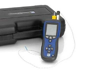 SPX TIF3110 Infrared Thermometer and Psychrometer with K-Type Thermocouple