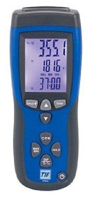 TIF3310 Thermocouple Thermometer, 2 Channel