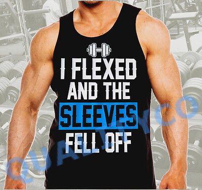 Men/'s Gym Workout Fitness Clothing Ringer Tank Top Muscle Top She Lifts Bro Food